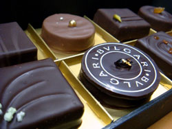 High quality BVLGARI chocolate
